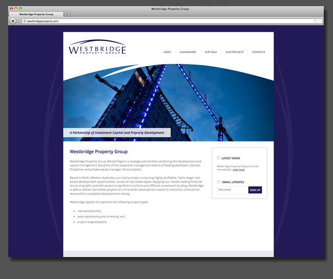 web Westbridge Property