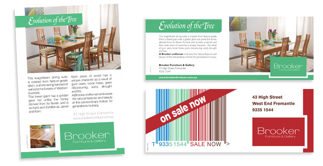 Advertising Brooker Furniture